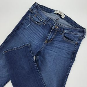 Hollister Womens 7S Skinny Distressed Jeans